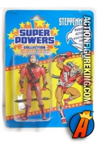 Vintage Kenner Super Powers Collection Steppenwolf action figure.