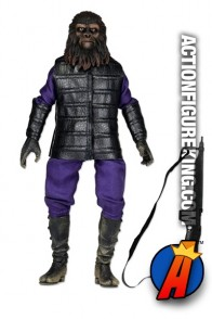 8-inch scale PLANET OF THE APES GORILLA SOLDIER action figure from NECA.