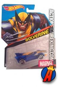 X-Men Wolverine die-cast car from Hot Wheels.