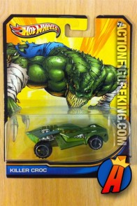 Killer Croc die-cast vehicle from Hot Wheels circa 2013.