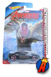 Avengers Age of Ultron Vision Muscle Tone die-cast vehicle from Hot Wheels.