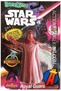 STAR WARS Bend-Ems The EMPEROR'S ROYAL GUARD Figure.