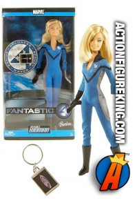 2005 Barbie as Invisible Woman Fashion Figure from Mattel.