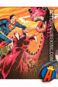 Nice artwork from this APC 200-Piece Superman and Batman Jigsaw Puzzle.