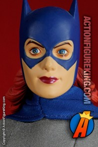 13 inch DC Direct fully articulated Batgirl action figure with authentic fabric outfit.