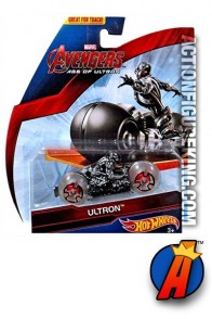 Ultron's Age of Ultron die-cast Cycle from Hot Wheels.