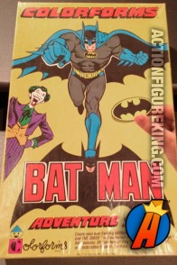 Batman Adventure Set from Colorforms circa 1989.