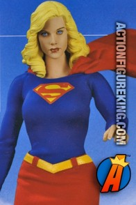 Fully articulated sixth-scale Supergirl figure with authentic cloth outfit.