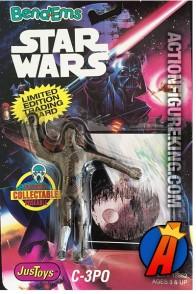 STAR WARS Bend-Ems C3-PO Figure.