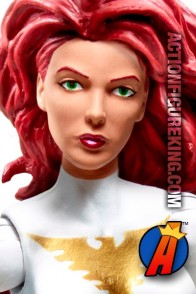 Marvel Legends White Phoenix Jean Grey figure from Hasbro.