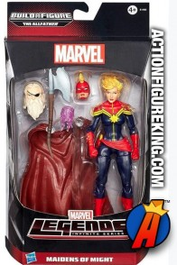 Marvel Legends Infinite Captain Marvel action figure from Hasbro.