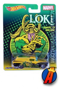 Loki Crate Delivery die-cast vehicle from Hot Wheels.