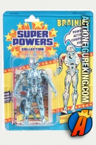 Kenner Super Powers Collection Brainiac action figure.