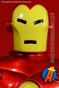 Famous Cover Series 8 Inch Iron Man action figure with authentic fabric outfit.