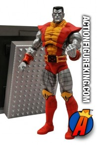 Fully articulated Marvel Select 7-inch Colossus action figure from Diamond Select Toys.
