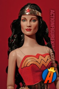 Tonner 16-inch Wonder Woman dressed figure.