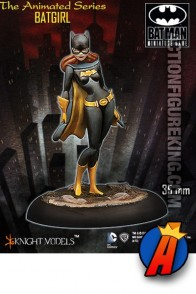 Knight Models 35mm Miniature BATGIRL ANIMATED Metal Figure.