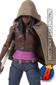 The Walking Dead TV Series 3 Michonne action figure from McFarlane Toys.