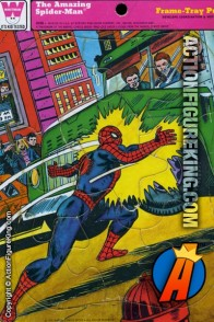 Spider-Man 9-Piece Frame-Tray puzzle from Whitman (4519A).