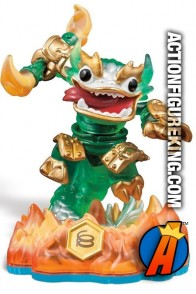 Swap-Force Jade Fire Kraken variant figure from Skylanders and Activision.