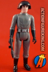 Vintage Star Wars Death Squad Commander action figure from Kenner circa 1978.