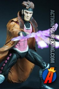 Marvel Select 7-inch scale Gambit action figure by Diamond Select Toys.