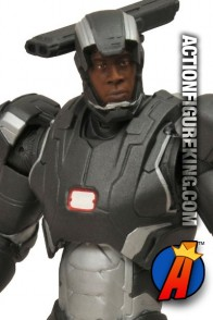 This Marvel Select War Machine figure features a a removable mask and an incredible likeness to actor Don Cheadle.