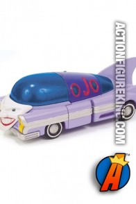 Corgi 1950s die cast Jokermobile from 2005.