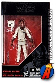 STAR WARS BLACK SERIES 6-Inch Scale ADMIRAL ACKBAR Action Figure from HASBRO.