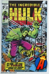 7 of 24 from the 1978 Drake's Cakes Hulk comics cover series.