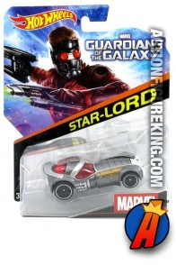 Guardians of the Galaxy Star-Lord die-cast car from Hot Wheels.