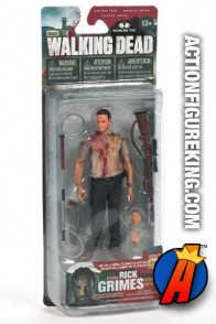The Walking Dead TV Series 4 Rick Grimes action figure from McFarlane Toys.