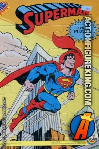 1984 Craft Masters Superman Super Powers 15 piece frame-tray puzzle.