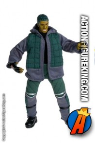X-Men Movie Mutations Ray Park as The Toad action figure with authentic cloth outfit from Toybiz.