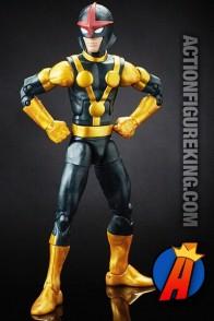 Marvel LEGENDS GOTG KID NOVA part of the TITUS Build-A-Figure Series.