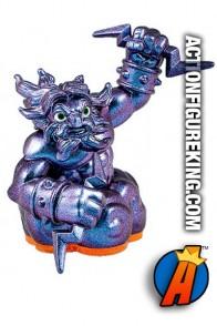 Skylanders Giants variant Violet Metallic Lightning Rod figure from Activision.