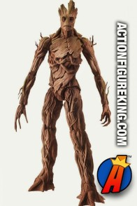 Fully articulated 6-inch scale Groot Build-a-Figure Marvel Legends action figure from Hasbro.