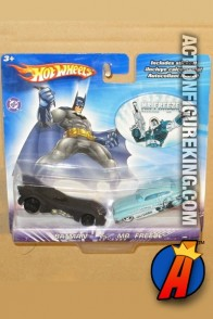 Batman vs. Mr. Freeze die-cast vehicles from Hot Wheels.