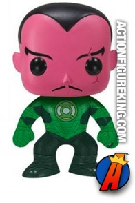 Funko Pop! Heroes movie Sinestro vinyl figure number 12.