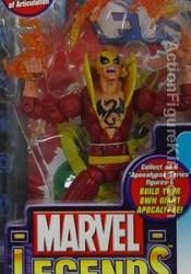 Marvel Legends Apocalypse Series 12 Red Variant Iron Fist Action Figure from Toybiz.