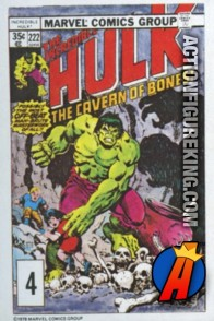 4 of 24 from the 1978 Drake's Cakes Hulk comics cover series.