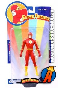 Super Friends 6-inch scale Flash action figure from DC Direct.