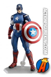 From the The Avengers films comes this Figma Captain America action figure.