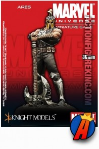 Marvel Universe 35mm ARES Metal Figure from Knight Models.