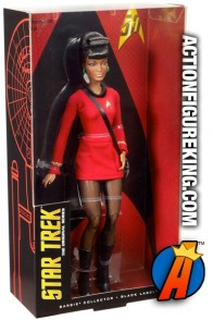 STAR TREK 50th Anniverary Barbie as LT. UHURA fashion figure.