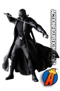 Sixth scale Medicom Real Action Heroes fully articulated Blade action figure with authentic fabric outfit.