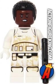 LEGO STAR WARS FINN STORMTROOPER minifigure with blaster.