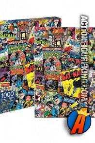 Batman Collage 1000-Piece Jogsaw Puzzle from Aquarius.