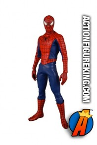 Sixth scale Medicom Real Action Heroes fully articulated Spider-Man 3 movie action figure with authentic fabric outfit.