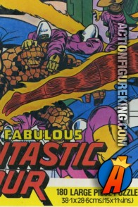 Whitman UK import The Fabulous Fantastic Four 180 large piece jigsaw puzzle.
